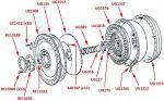 Flywheel (Integral Flywheel & Ring Gear, Automatic Gearbox)