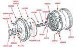 Flywheel (Integral Flywheel & Ring Gear, Automatic Gearbox, SM-series)